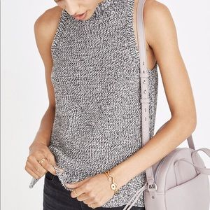 Madewell Knit Sweater Sleeveless Top